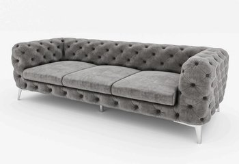 Chesterfield 3 sits soffa Chelsea