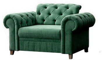 Fåtölj Prince chesterfield green